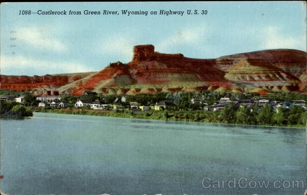 Castlerock From Green River U S 30 Castle Rock Wy