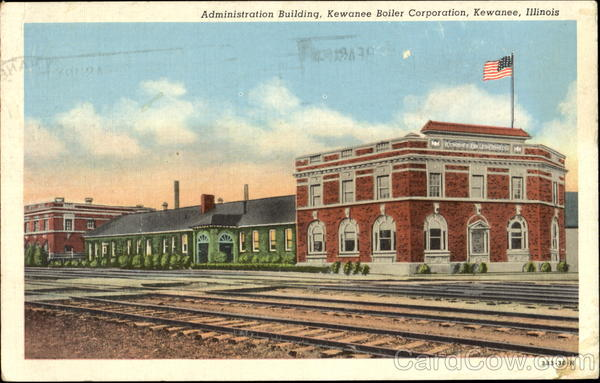 Administration Building Kewanee Boiler Corporation Illinois