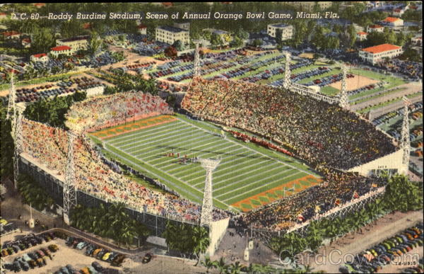 Roddy Burdine Stadium Miami Florida