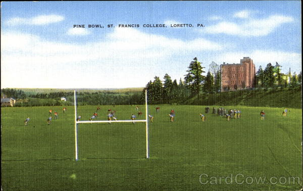 Pine Bowl, St. Francis College Loretto Pennsylvania