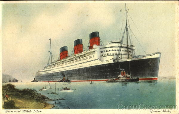 Cunard White Star Queen Mary Boats, Ships