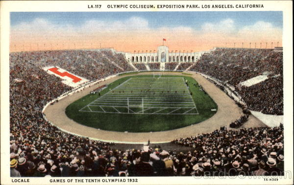Olympic Coliseum, Exposition Park Los Angeles California