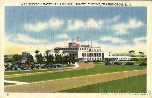Washington National Airport, Gravelly Point District of Columbia
