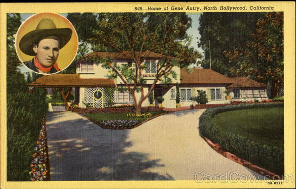 Home Of Gen Autry North Hollywood California