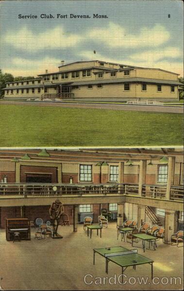 Service Club Fort Devens Massachusetts