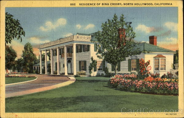 Residence Of Bing Crosby North Hollywood California