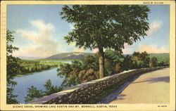 Scenic Drive Showing Lake Austin And Mt. Bonnell