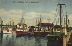 View Of Fishing Fleet