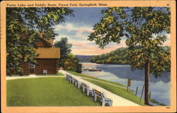 Porter Lake And Paddle Boats, Forest Park
