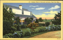 Summer Home Of Gertrude Lawrence