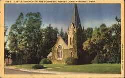 Little Church Of The Flowers, Forest Lawn memorial Park