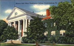Monroe Hall, Mary Washington College
