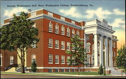 George Washington Hall, Mary Washington College