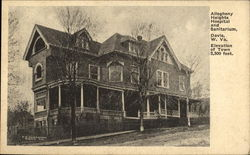 Allegheny Heights Hospital And Sanitarium