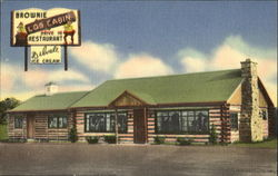 Brownie Log Cabin Drive In Restaurant, U. S. Route #1