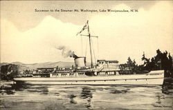 Successor To The Steamer Mt. Washington