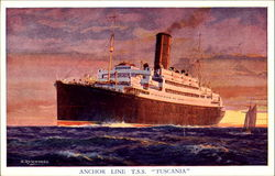 Anchor Line T. S. S. Tuscania
