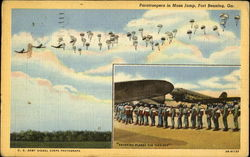 Paratroopers In Mass Jump