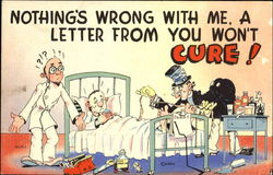 Nothing's Wrong With Me A Letter From You Won't Cure! Postcard