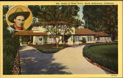 Home Of Gen Autry Postcard