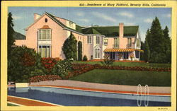Residence Of Mary Pickford