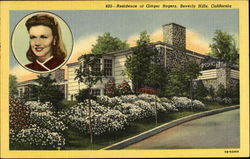 Residence Of Ginger Rogers