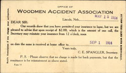 Office Of Woodmen Accident Association
