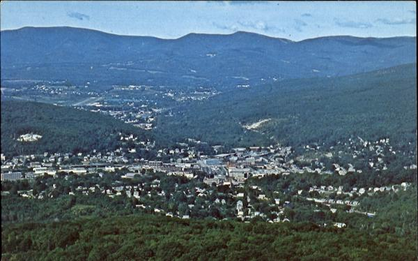 The Spectacular View Of North Adams And Mt. Greylock Massachusetts
