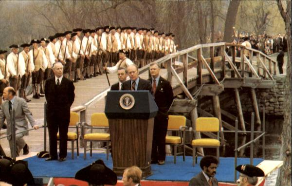 Concord Bicentennial Celebration Massachusetts Presidents