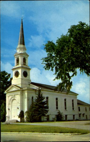 Congregational Church Wilmington Massachusetts