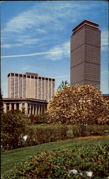 Prudential Tower And Sheraton-Boston Hotel, Prudential Center Massachusetts