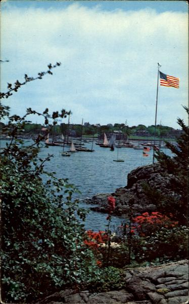 Picturesque View Of Marblehead Harbor Massachusetts
