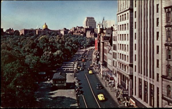 A General View Of Tremont Street Boston Massachusetts