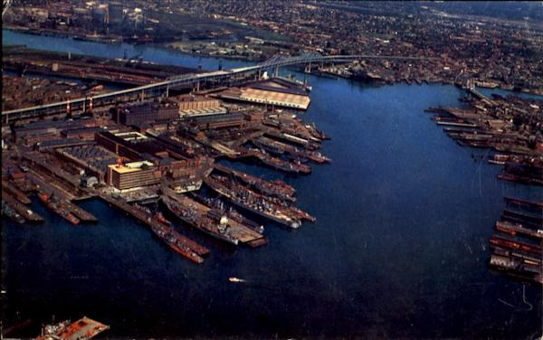 Aerial View Of Boston Harbor Massachusetts