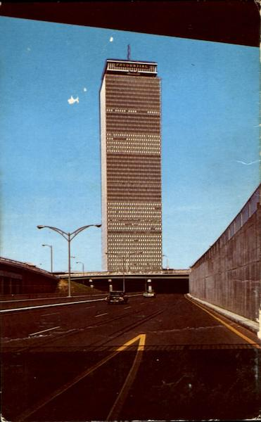 The Prudential Tower Boston Massachusetts