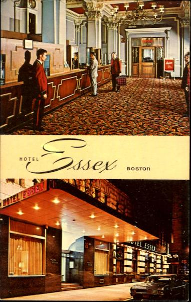Hotel Essex Boston Massachusetts