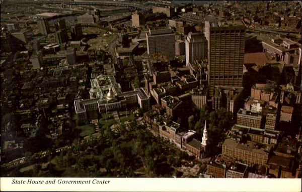 State House And Government Center Boston Massachusetts