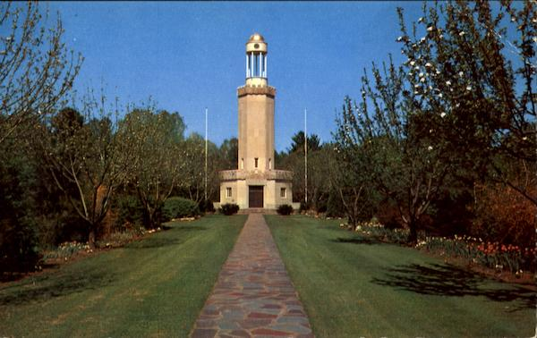 Carillon Tower, Stanley Park Westfield Massachusetts
