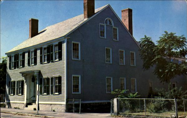 Birthplace Of James McNeill Whistler Lowell Massachusetts