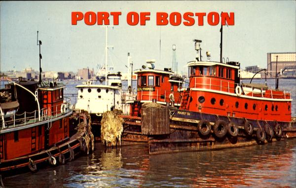 Port Of Boston Massachusetts
