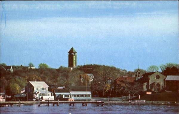 Water Tower Amp St Mary S Of The Bay Church Hull Ma