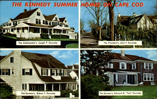The Kennedy Summer Home On Cape Cod Massachusetts