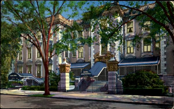 Hotel Beaconsfield 1731 Beacon St Brookline Machusetts