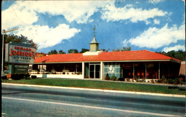 Howard Johnson's Massachusetts Restaurants