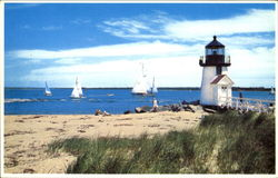 Sailing At Brant Point