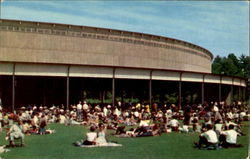 Overflow At The Music Shed Concert, Tanglewood Postcard