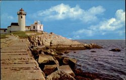 Eastern Point Light And Breakwater
