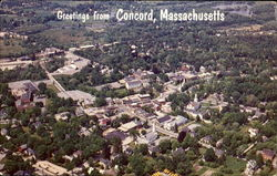Aerial View Of Historic Concord