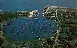 Air View Of Wychmere Harbor And Wychmere Harbor Club, Snow Inn Rd