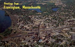 Aerial View Of Framingham